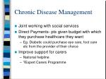 chronic disease management10