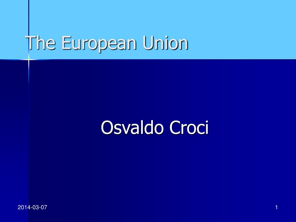 the european union l.