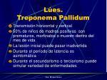 l es treponema pallidum