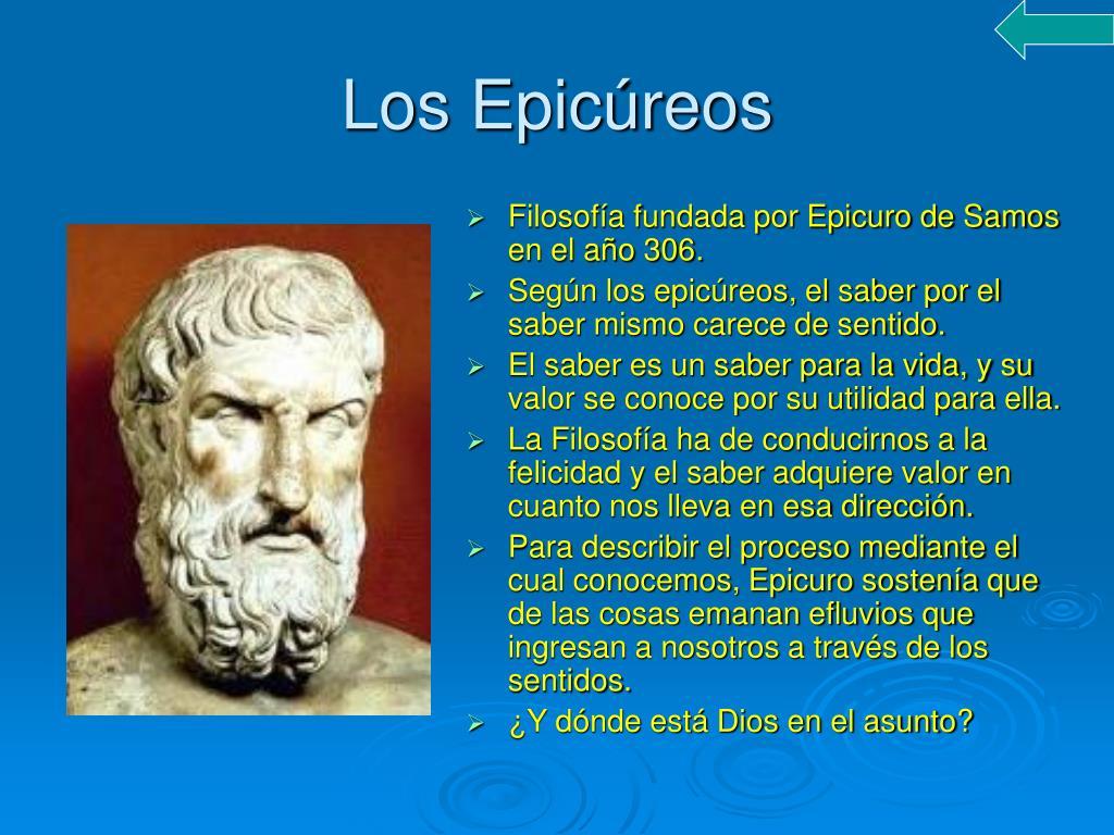 Los Epicúreos