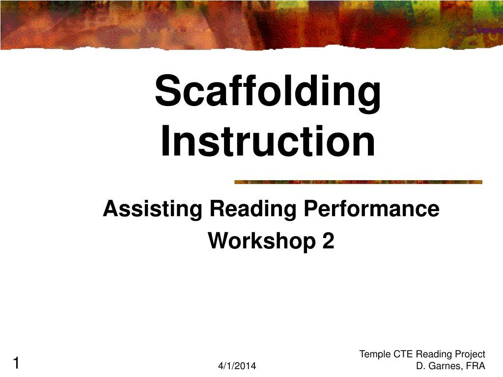 scaffolding instruction l.
