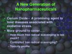 a new generation of nanopharmaceuticals