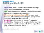 ocan and the lhin