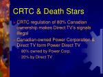 crtc death stars