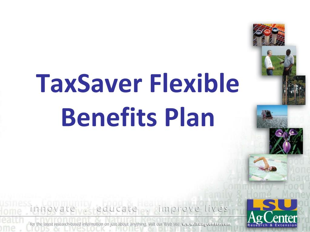 taxsaver flexible benefits plan l.