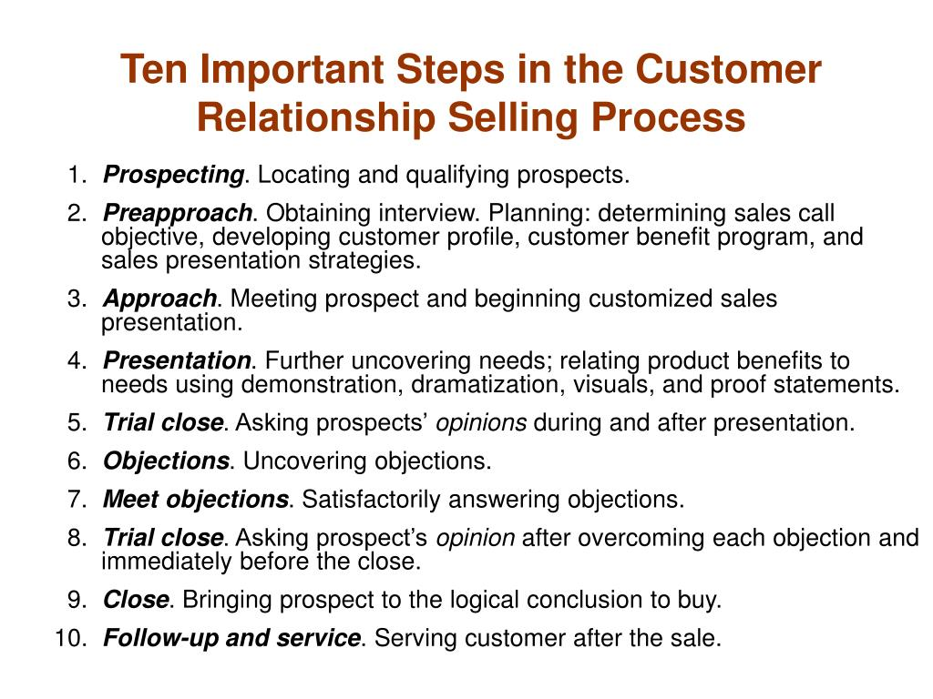 relational selling Which of the following best describes a key difference between traditional sales tactics and trust-based relationship selling methods today a.