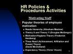 hr policies procedures activities12