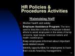 hr policies procedures activities14