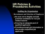 hr policies procedures activities6
