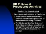 hr policies procedures activities7
