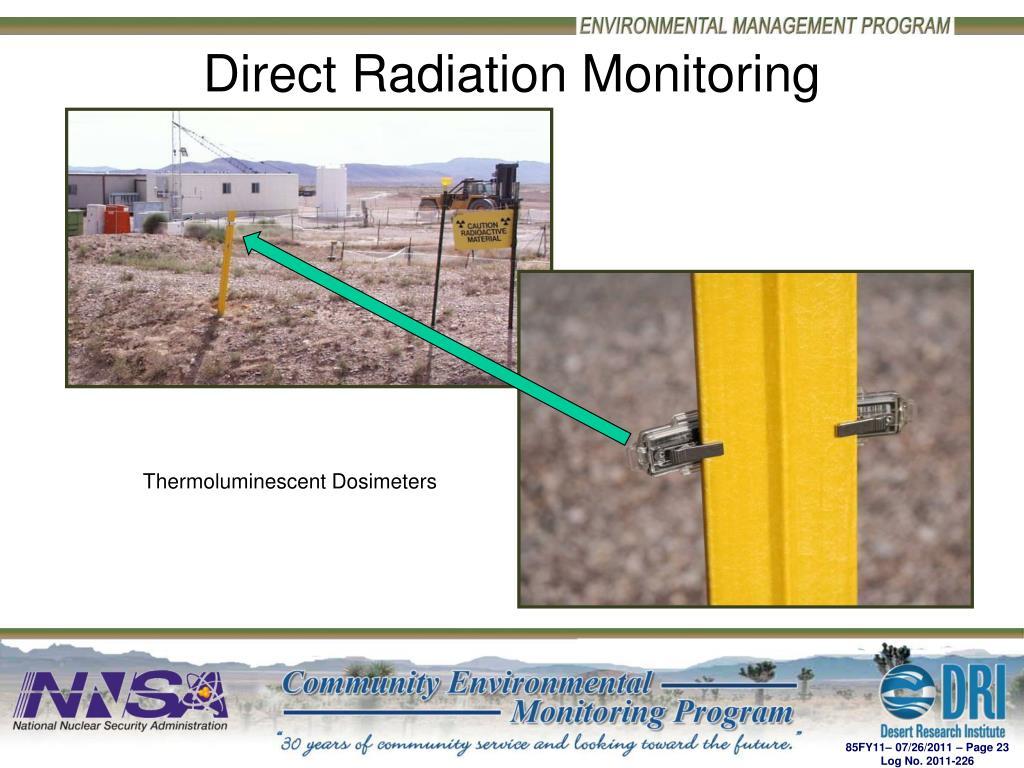 Direct Radiation Monitoring