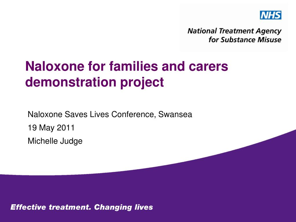 naloxone for families and carers demonstration project l.