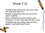 grade 7 12