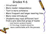 grades 4 6