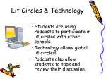 lit circles technology