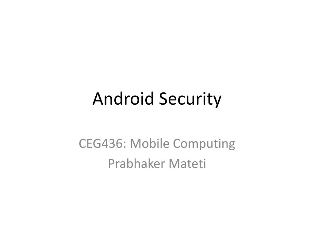 android security l.