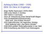 aufstieg bl te 1900 1939 dkw ein d ne im erzgebirge