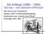 die anf nge 1880 1900 das auto eine s chsische erfindung