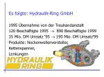 es folgte hydraulik ring gmbh