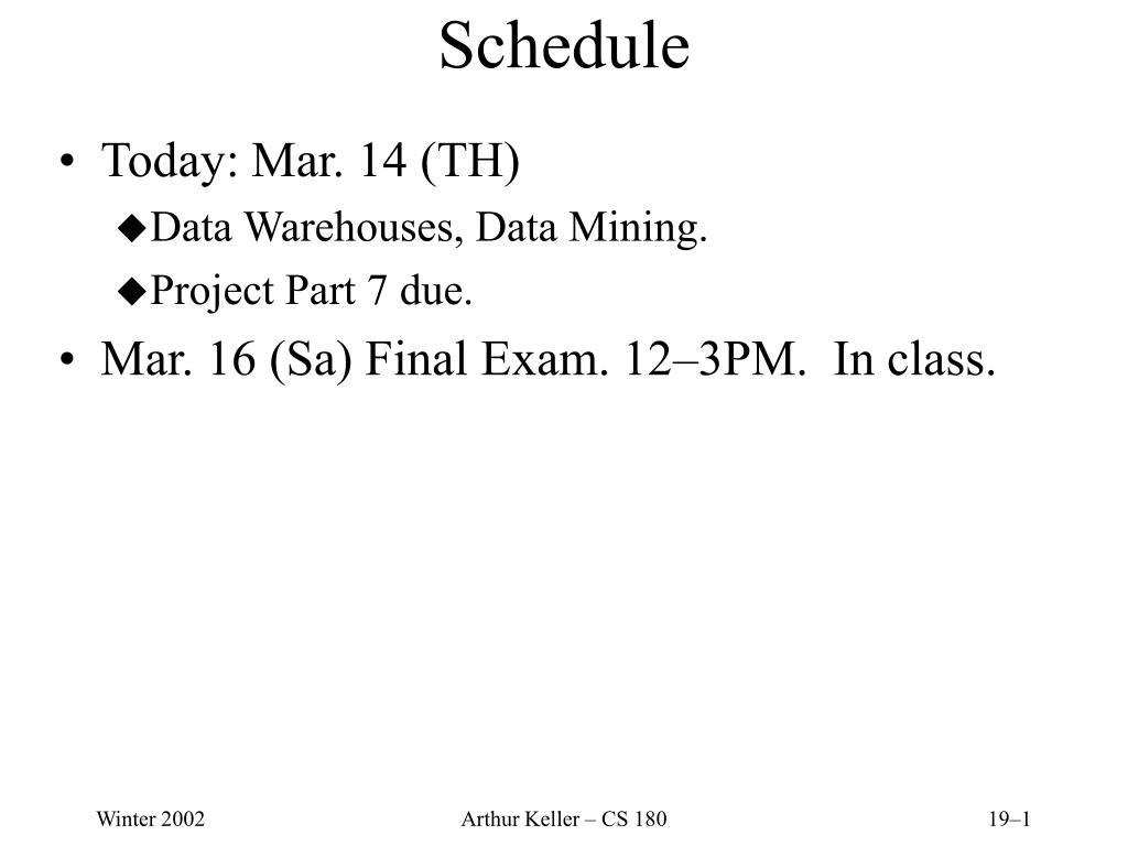 schedule l.