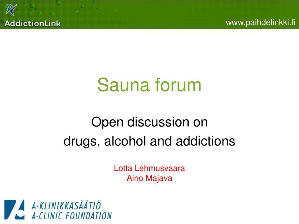 sauna forum l.