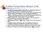 certified transportation network ctn