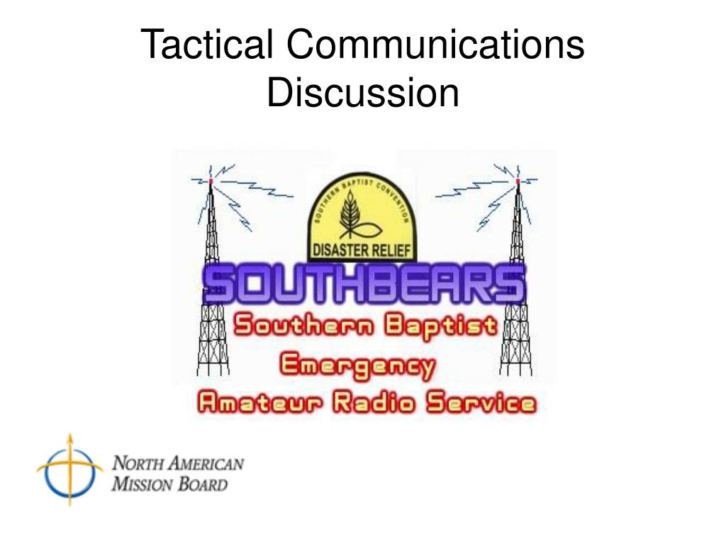 tactical communications discussion l.