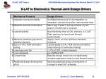 x lat to electronics thermal joint design drivers