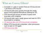 what are convoy effects
