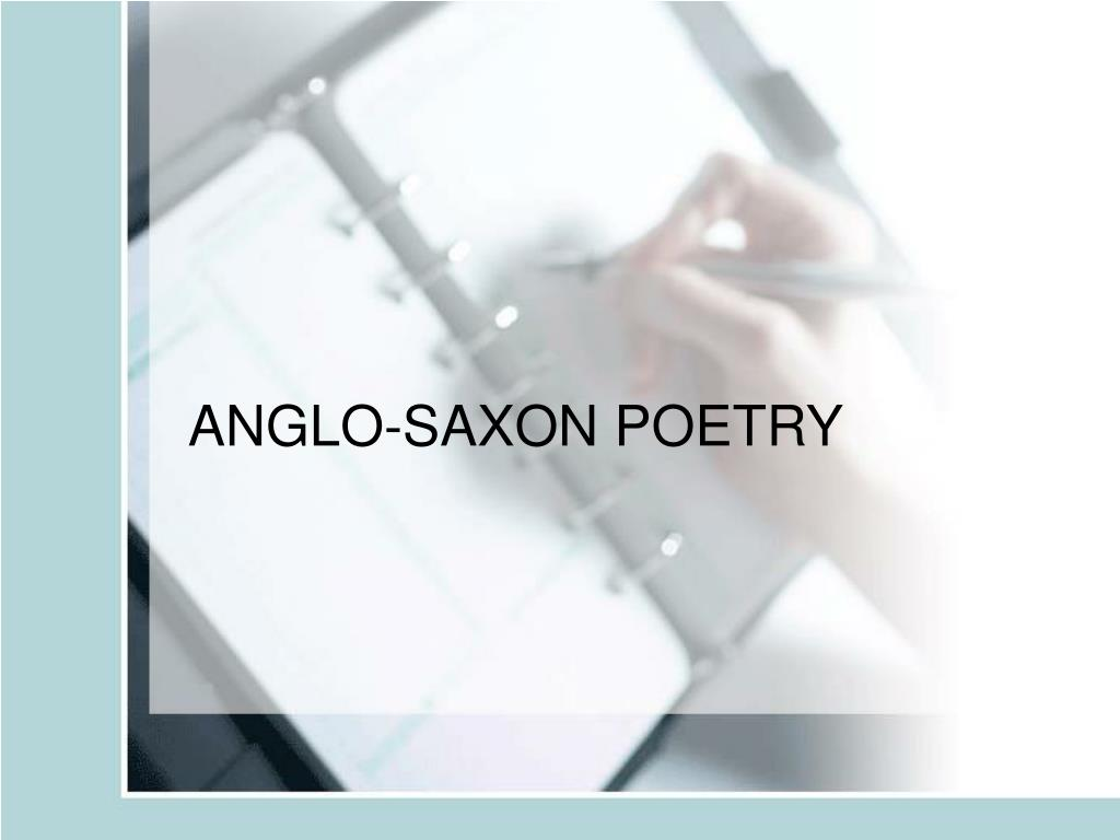 anglo saxon poetry l.