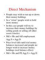direct mechanism