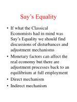 say s equality10