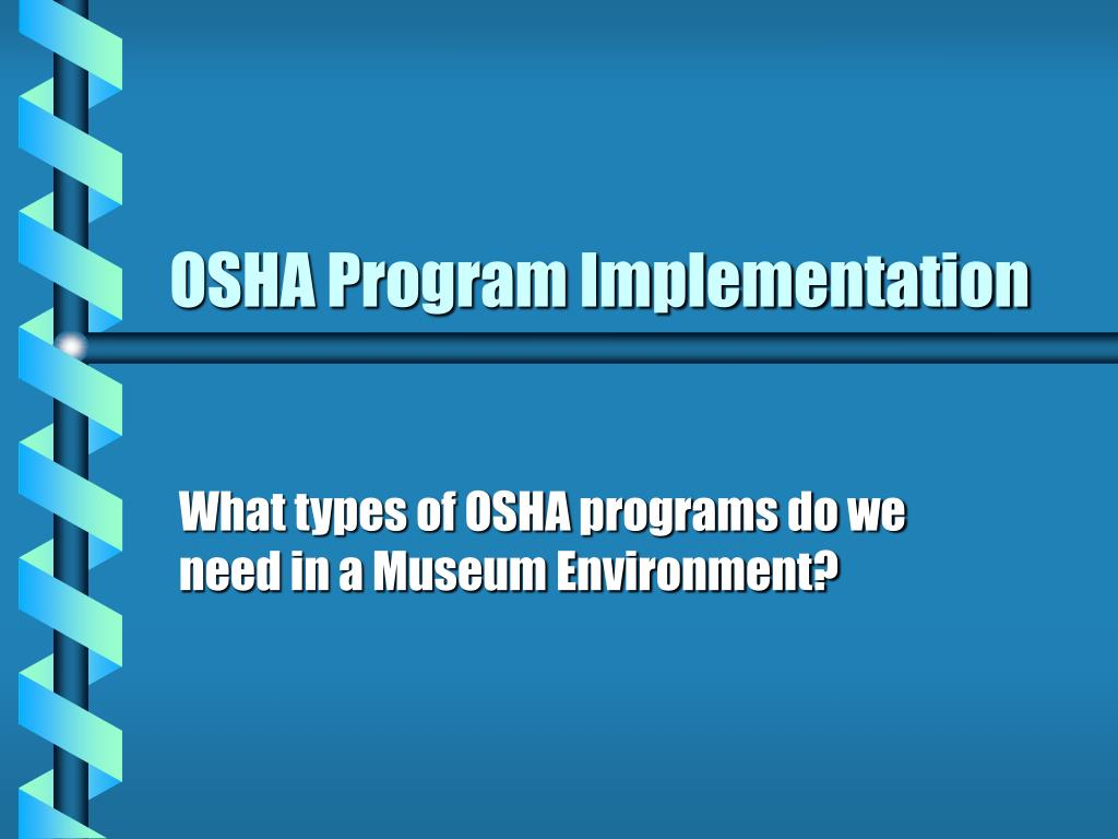 osha program implementation l.