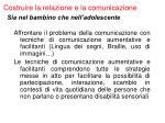 costruire la relazione e la comunicazione42