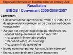 resultaten bibob convenant 2005 2006 200716