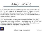 a story cont d