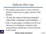 software does age43