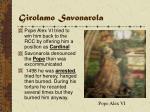 girolamo savonarola26