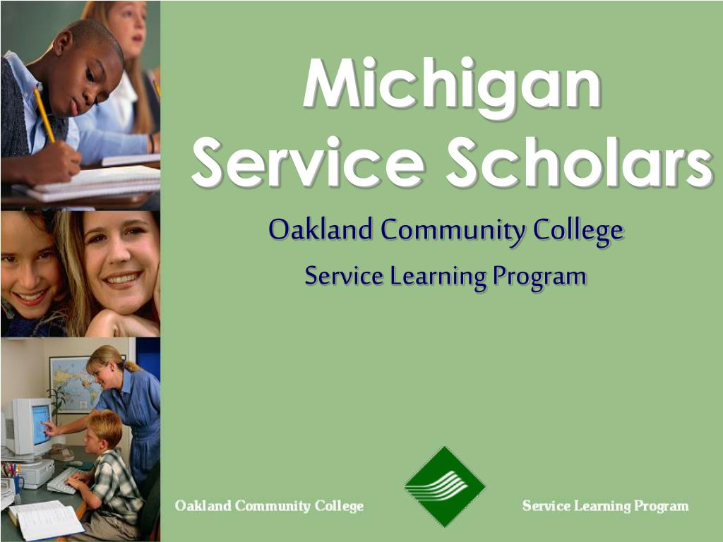 michigan service scholars l.