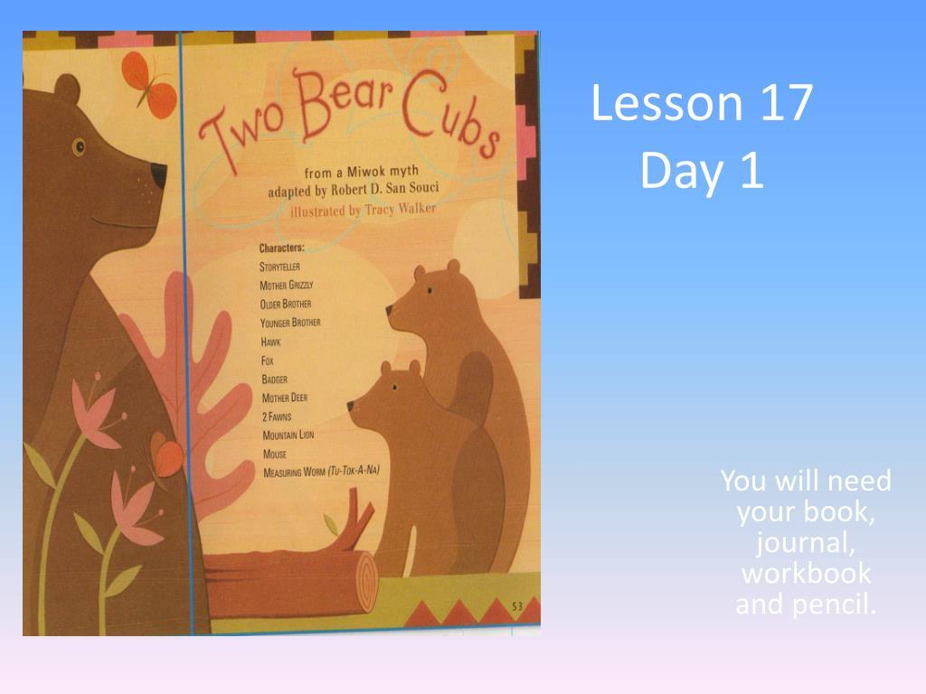 lesson 17 day 1 l.