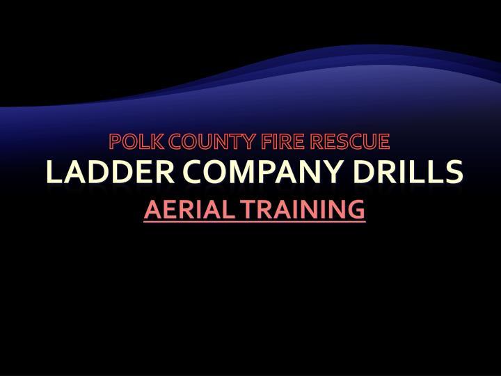 polk county fire rescue n.