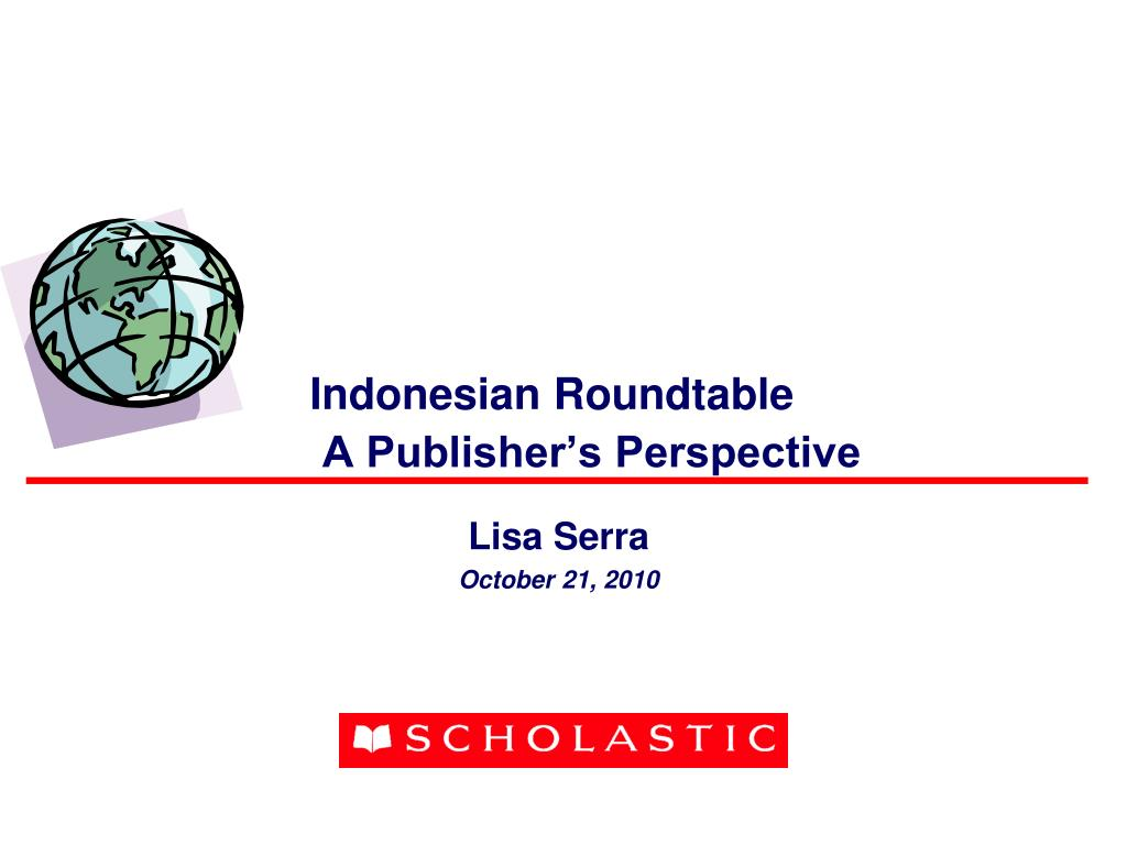 indonesian roundtable a publisher s perspective l.