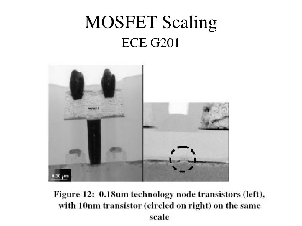 mosfet scaling l.