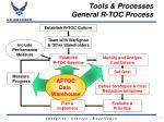 tools processes general r toc process