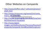 other websites on campanile