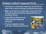 making unified command work