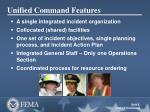 unified command features
