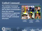 unified command
