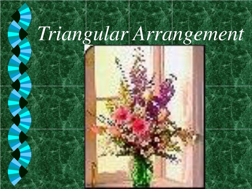 triangular arrangement l.
