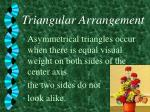 triangular arrangement4